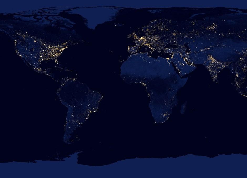 Internet nasa lights