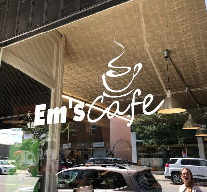 You've Got To Stop in at Em's Cafe in downtown Coldwater! #ad