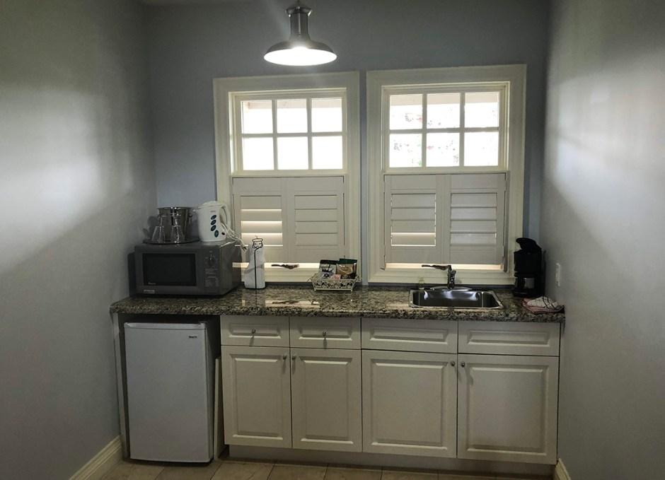 rawley resort kitchenette