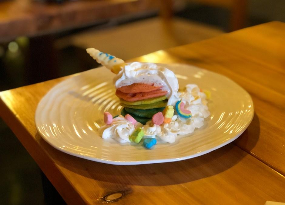 125 Breakfast Club unicorn pancakes