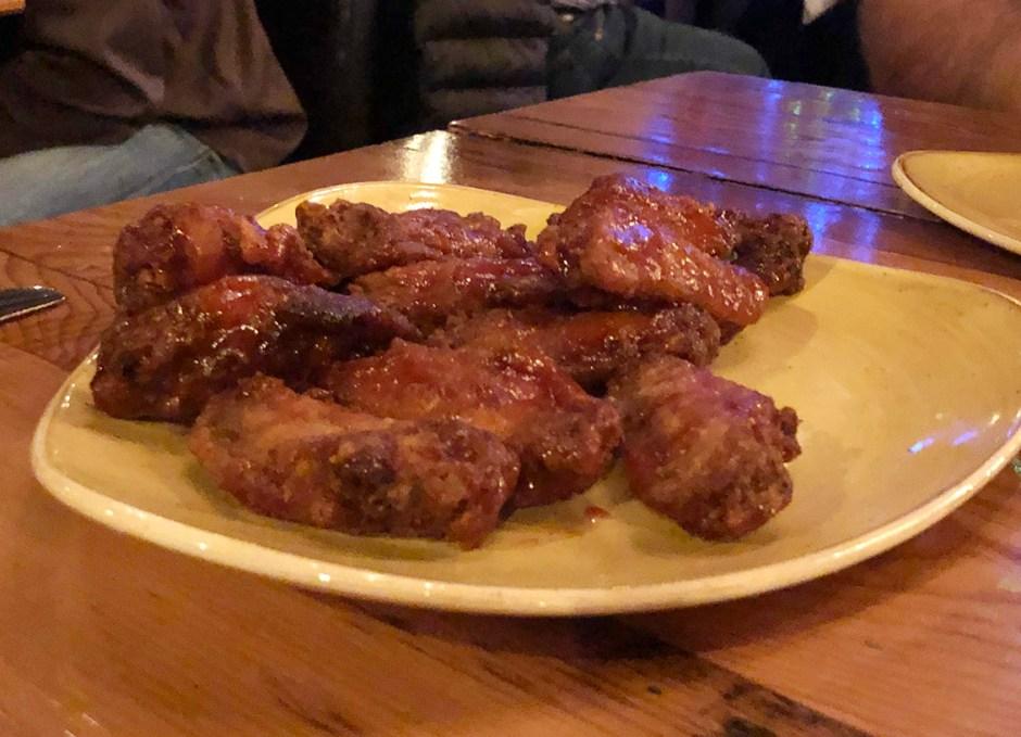 Tailwinds chicken wings