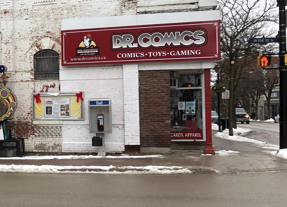 shop downtown orillia dr comics