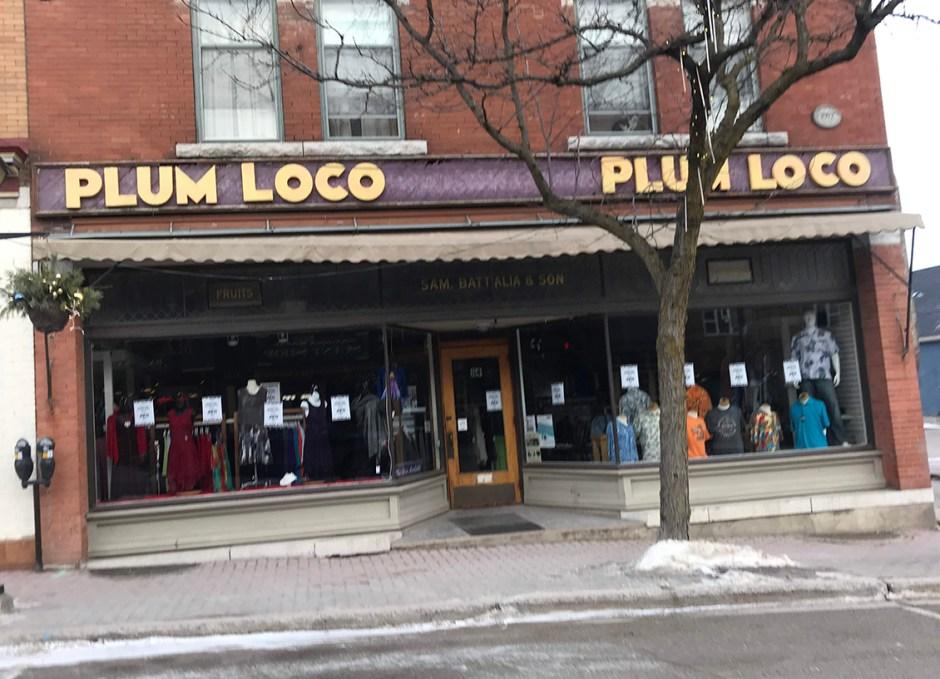 shop downtown orillia plum loco