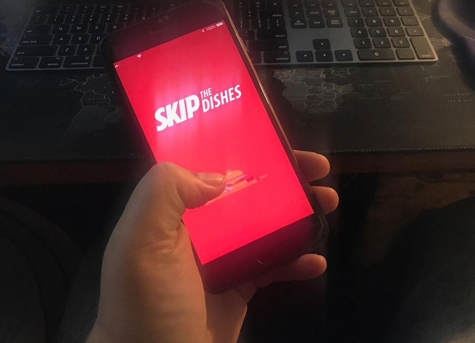 skipthedishes app on iphone