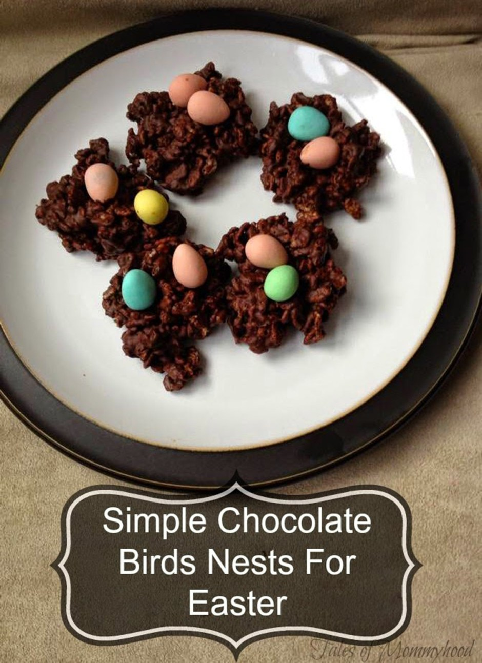2019 Easter Treats 06 Simple Chocolate Birds Nests