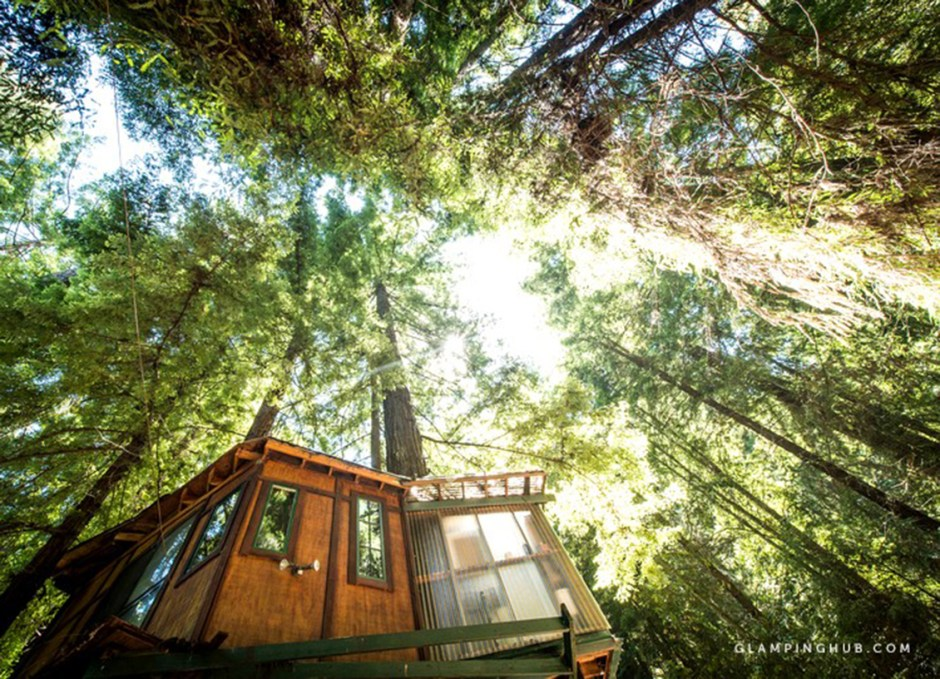 glamping treehouse cali