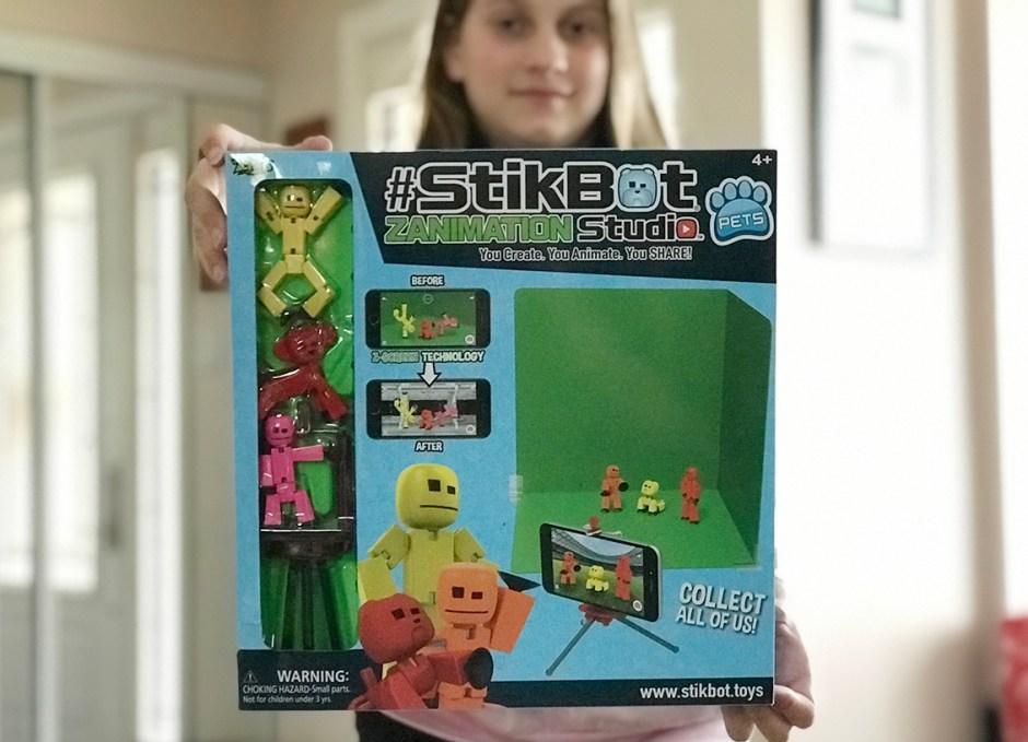 stikbot zanimation studio package stop motion animation
