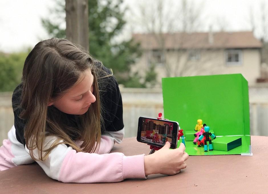 stikbot zanimation studio setting up shot stop motion animation