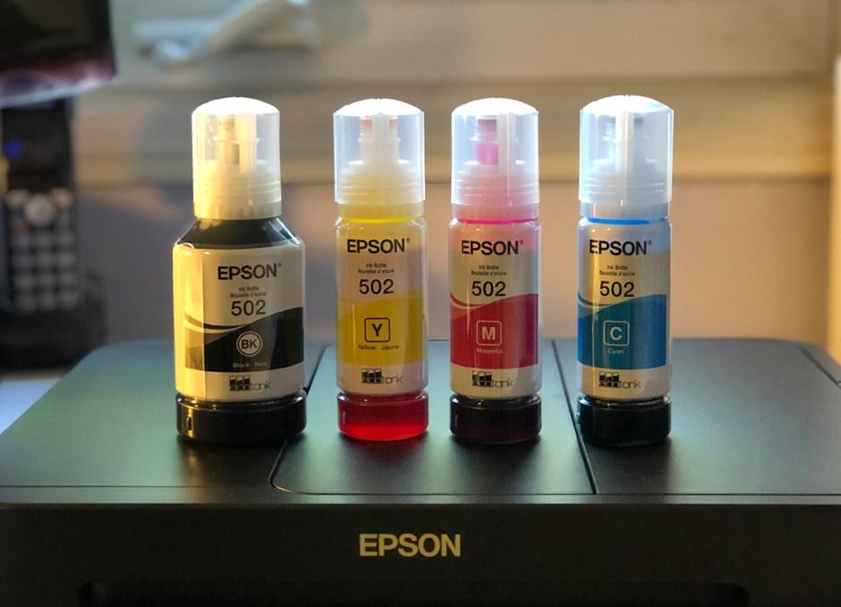 Epson WorkForce ET-4750 EcoTank ink