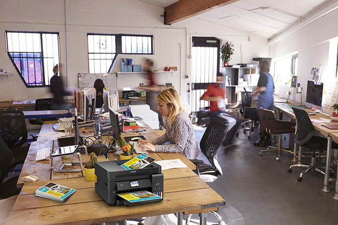 Epson WorkForce ET-4750 EcoTank office workgroup