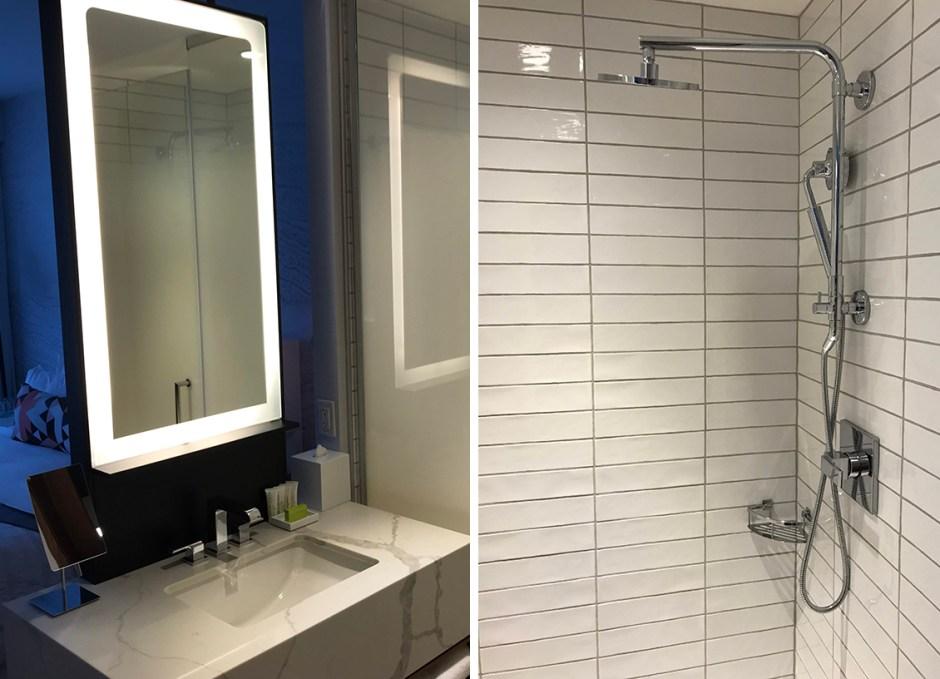 Le Méridien Downtown Denver bathroom