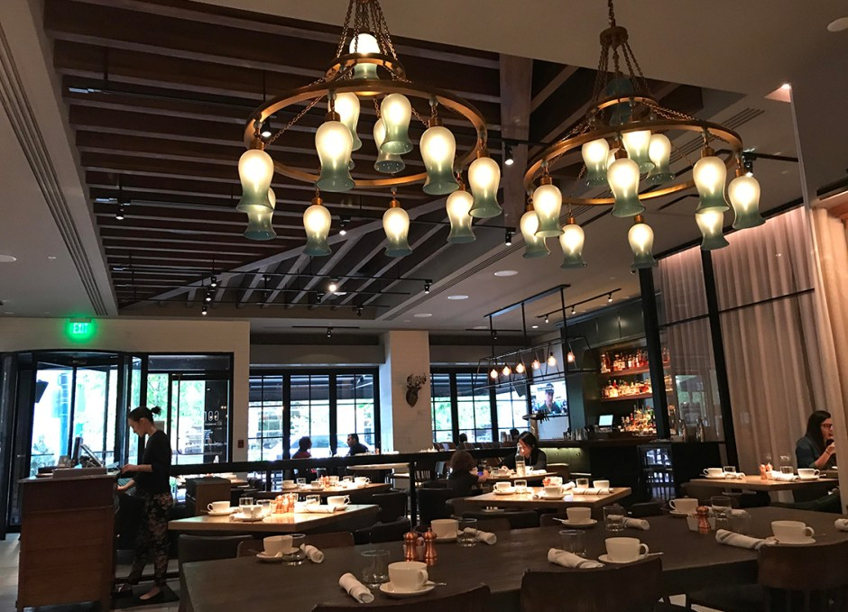 Le Méridien Downtown Denver corinne restaurant