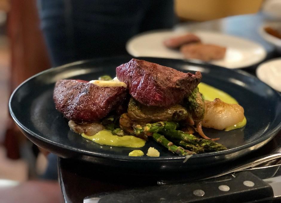 Avelina flat iron steak