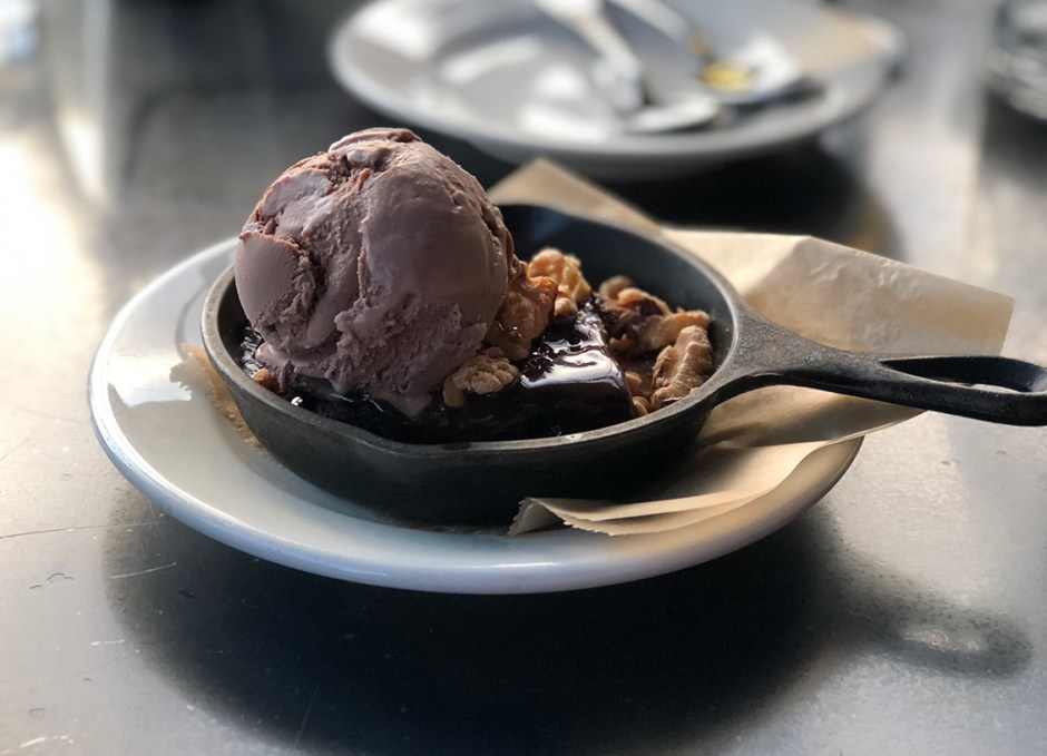 Work And Class Warm Chocolate Brownie