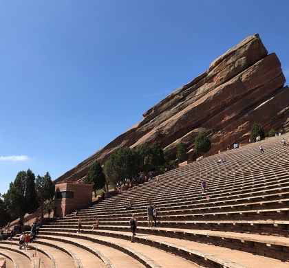 Visit Colorado: Feeling Like a Rock Star at Red Rocks Amphitheatre #ad @RedRocksCO @visitdenver @colorado #BDKColorado