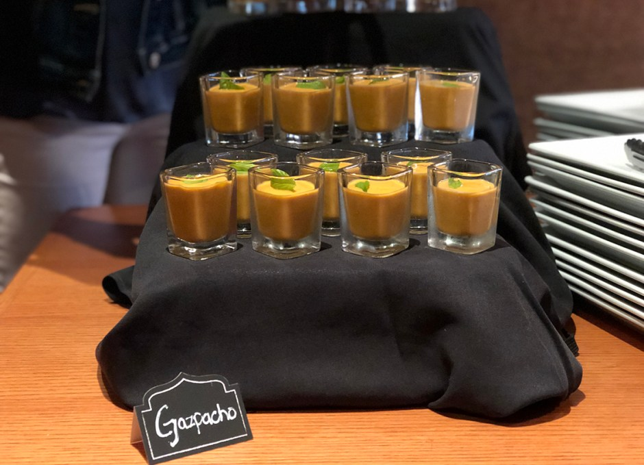 Taste Of Burlington Canyon Creek Chophouse gazpacho