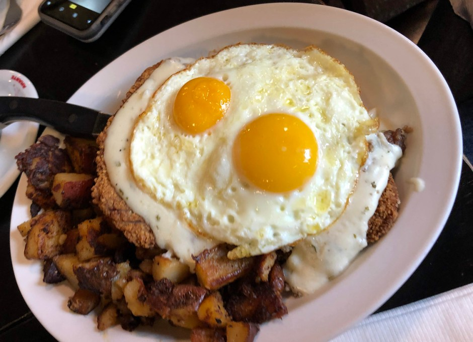 creekside cafe country fried steak