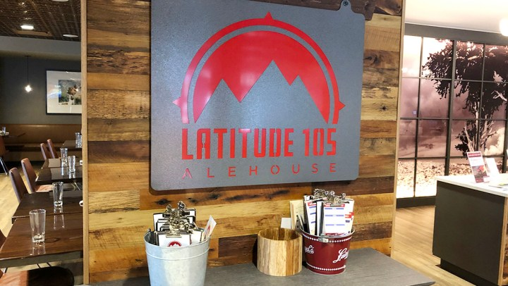 Visit Colorado: Breakfast at Latitude 105 Alehouse. #ad @visitestespark @colorado #BDKColorado