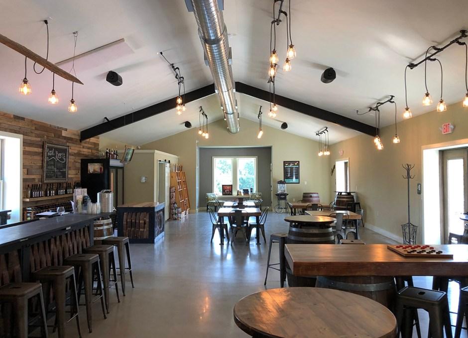 paradocx vineyard tasting room