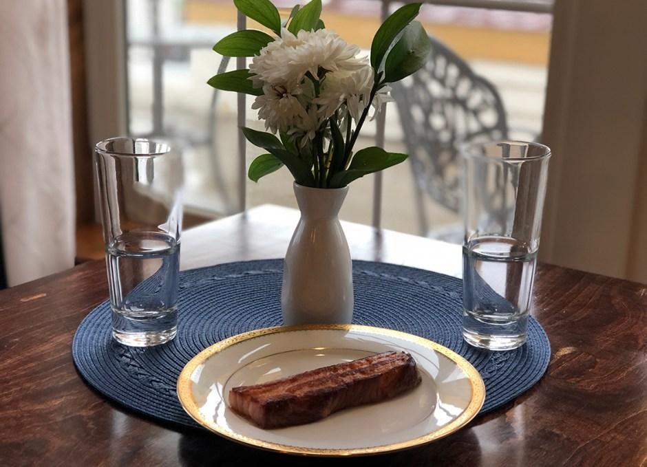 seasoned braised bacon