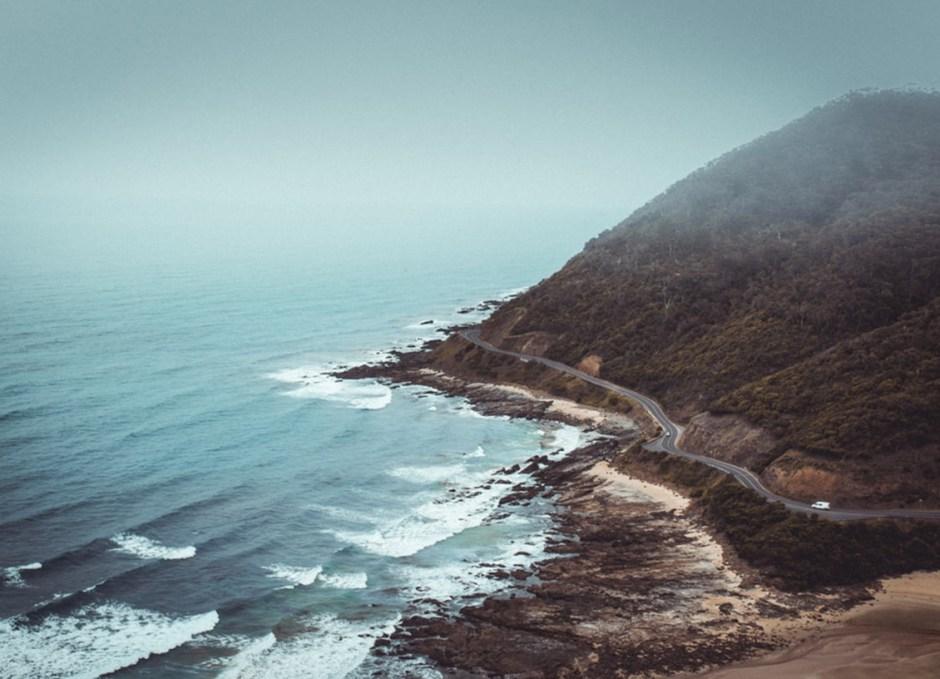 The Great Ocean Road in Victoria australia australian