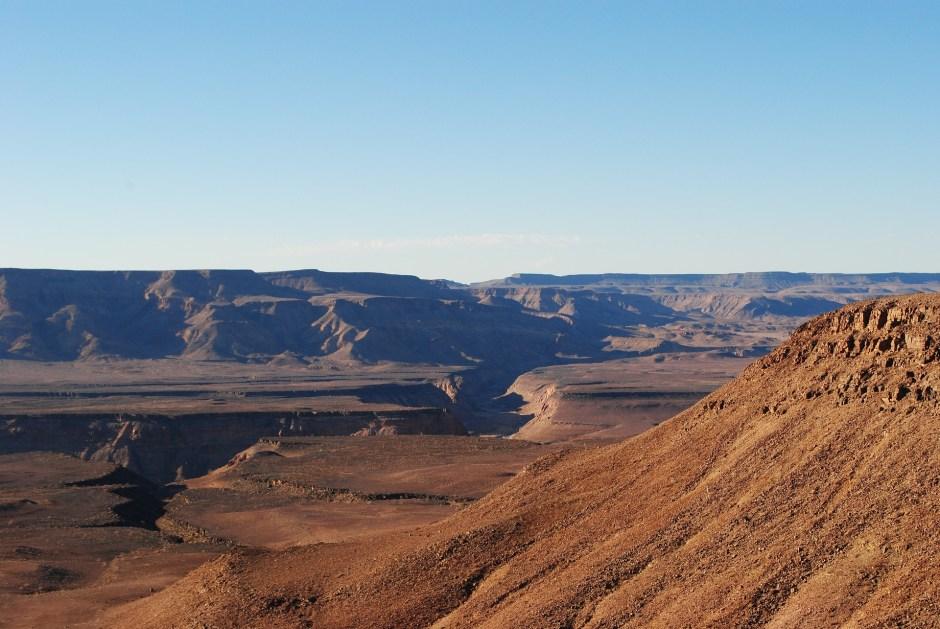 namibia fish river canyon africa