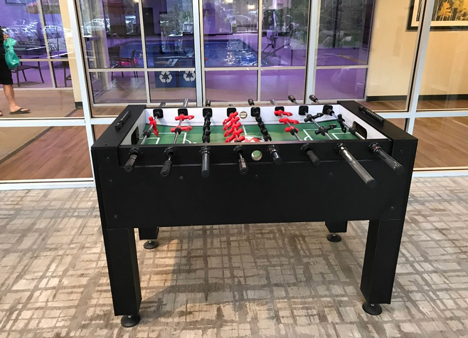 ridgeline foosball table