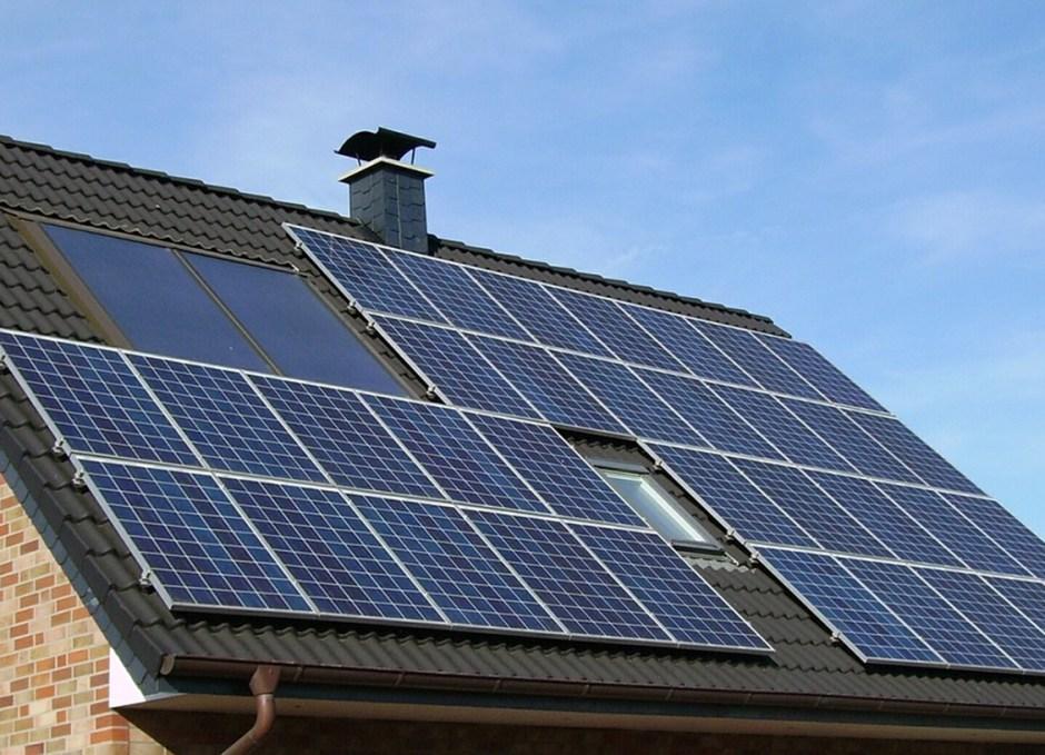 climate change solar panels