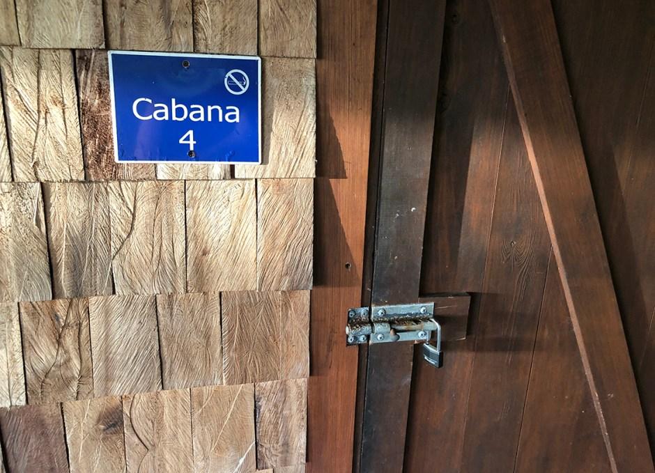 Pagua Bay House cabana 4 door