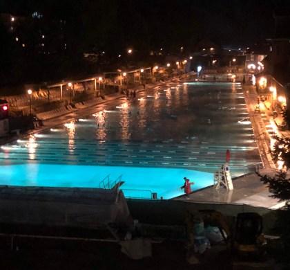 Visit Colorado: A Soak in the Glenwood Hot Springs Pool. #ad @VisitGlenwood @hotspringspool @colorado #BDKColorado