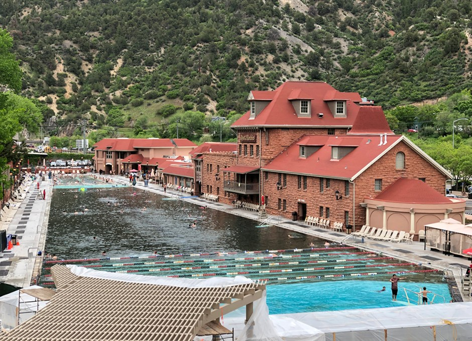 Glenwood Hot Springs Pool property