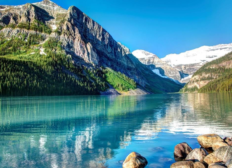 backpacking lake louise banff alberta