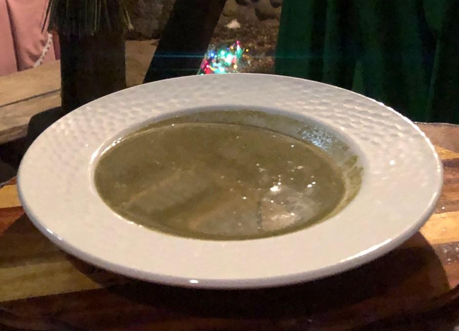 poz dominica callaloo soup