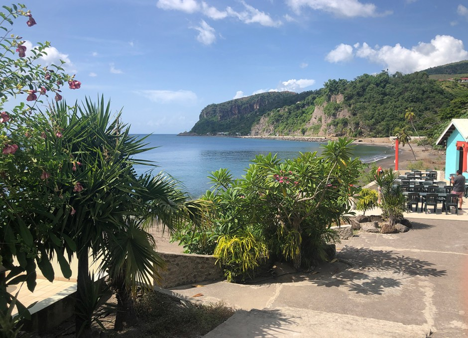 Sunset Bay Club Lobster Palace in Dominica Location