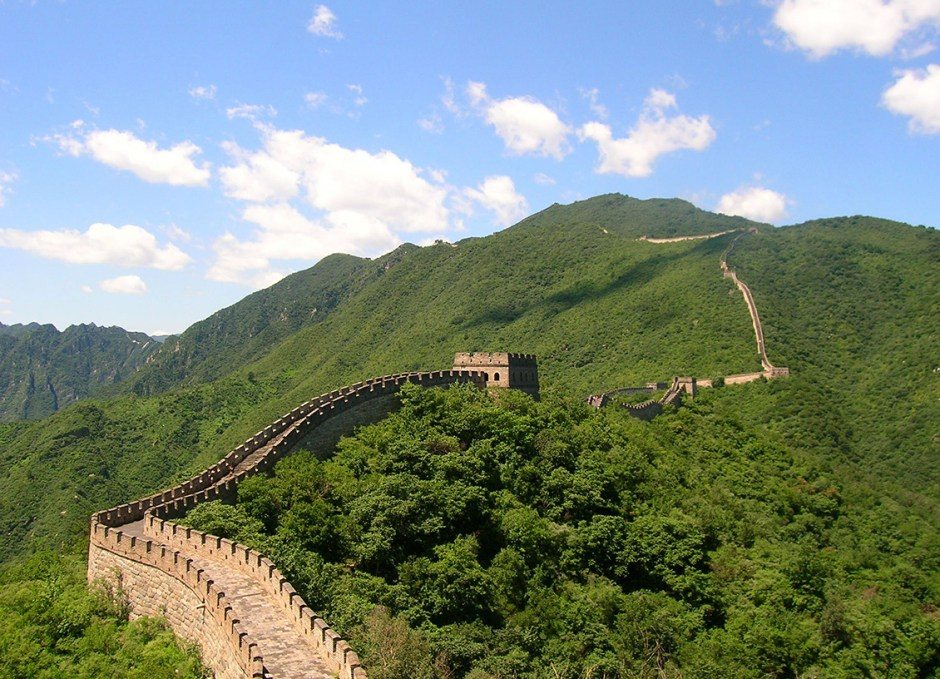solo travellers great wall of china