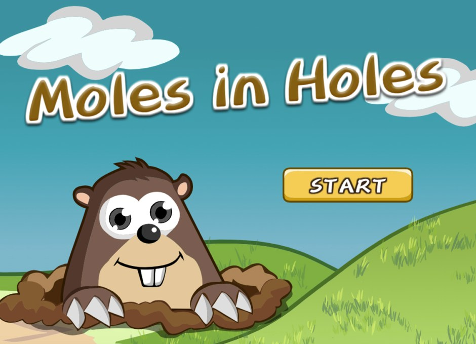moles in holes video games good for mind and body