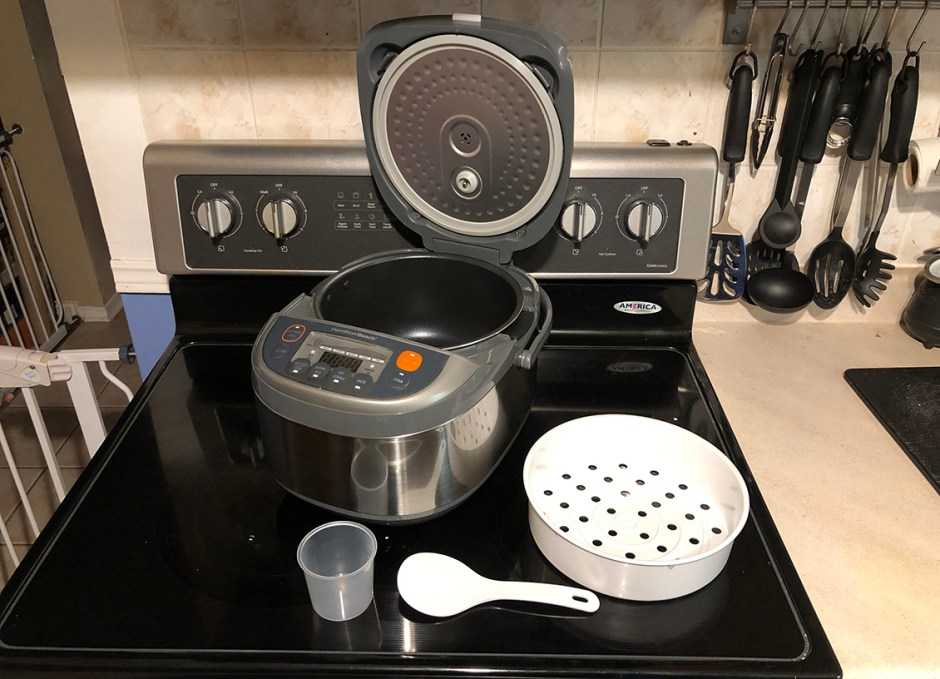 Hamilton Beach Multi-Function Rice Cooker all parts