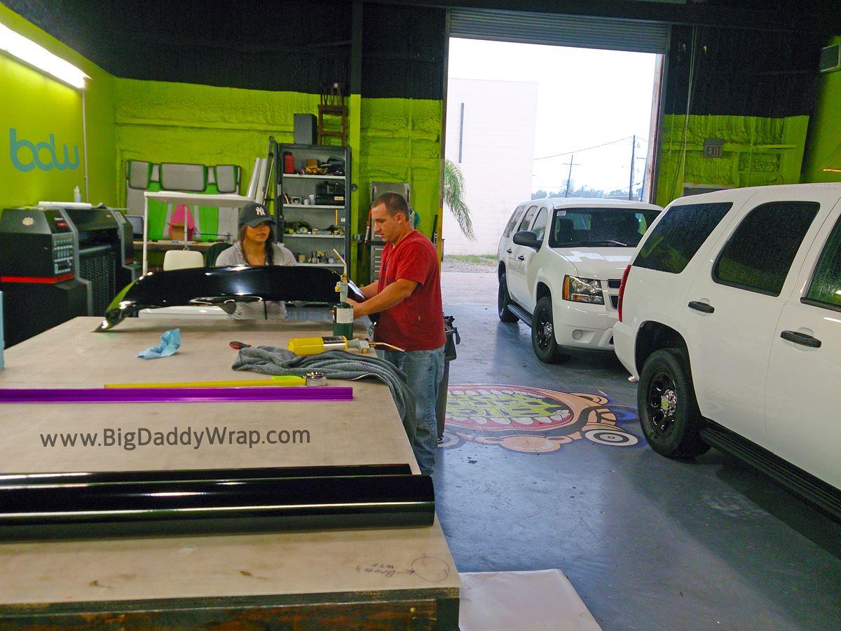 Auto Vinyl Wrap Installers
