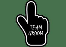 Team Groom Bubble