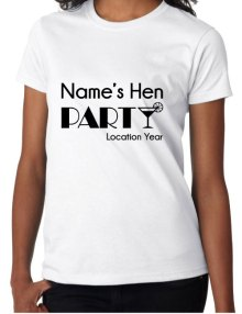 Hen T-Shirts - Cocktail