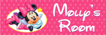 Minnie Mouse - Bedroom Door Sign