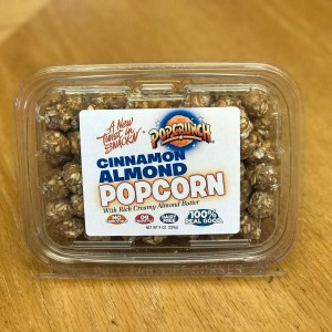 8 oz. PopCrunch Cinnamon Almond popcorn