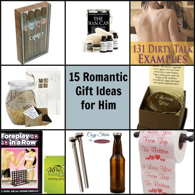 15 Unique Romantic Gift Ideas For Him