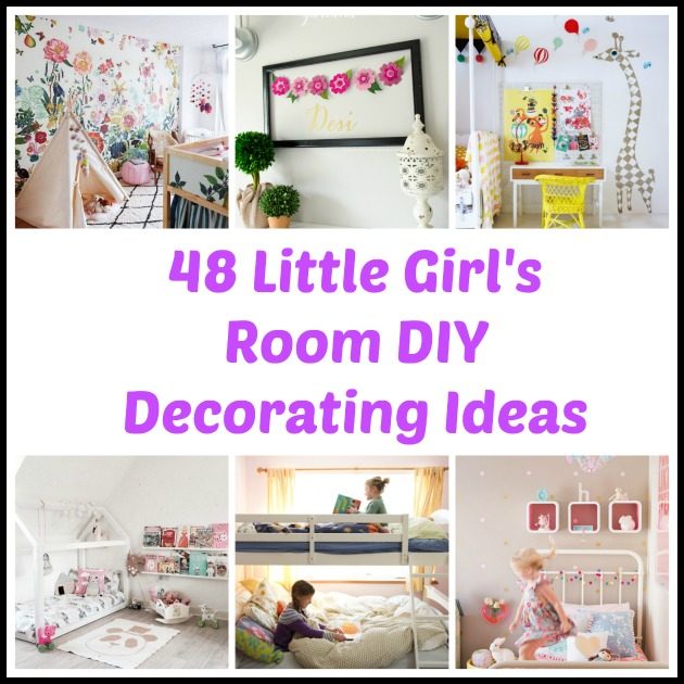 48 DIY Decorating Ideas For A Little Girls Room