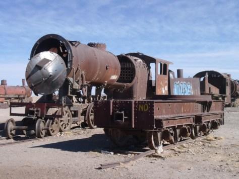 bolivya tren mezarlığı