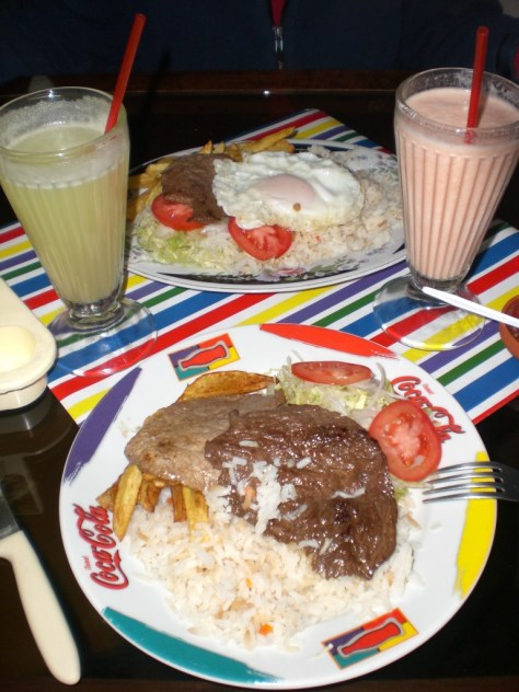 la paz yemekleri