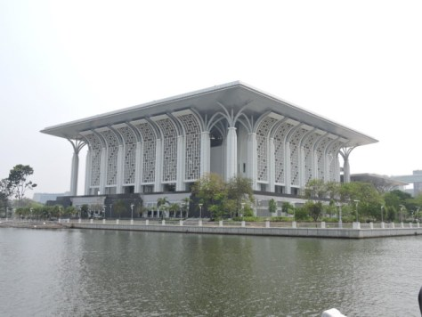 steel mosque