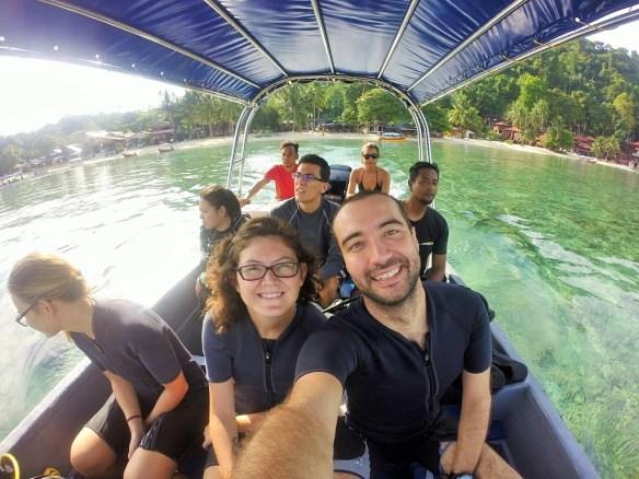 perhentian adalarında dalış