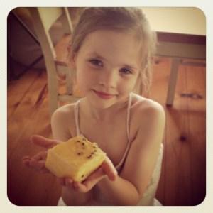 Miss5 with vanilla slice