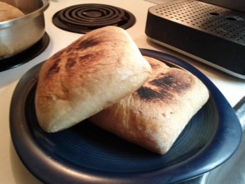 pan fried chipati bread